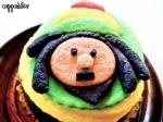 Rasta Cupcake
