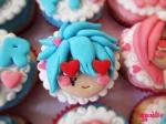 Fairy Tail Anime Cupcakes